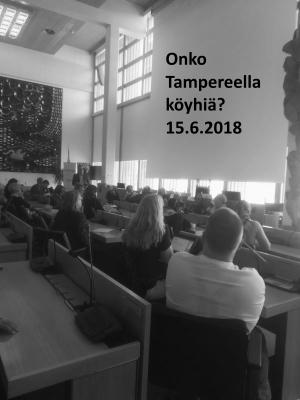 Onko Tampereella köyhiä?-keskustelutilaisuus 15.8.2018